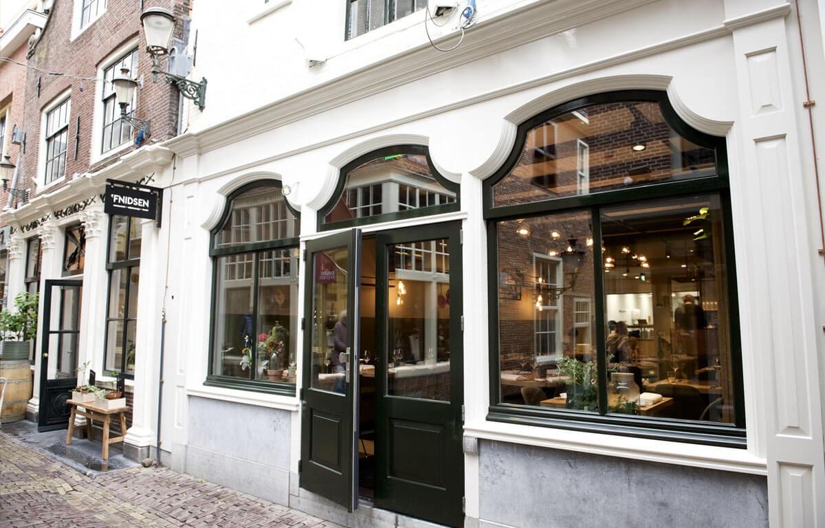 Gevel restaurant 't fnidsen Alkmaar